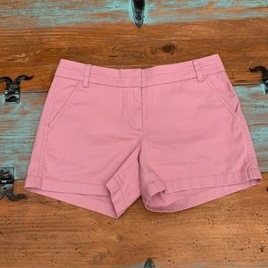 J.Crew Chino Dusty Rose Shorts | Woman's Size 4